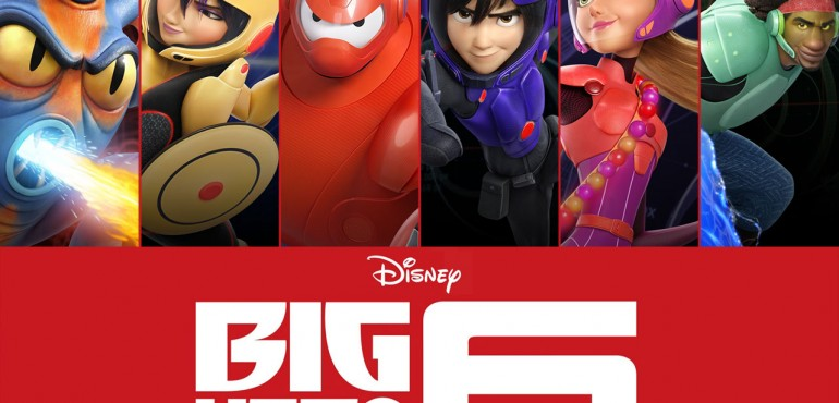 10 JUNE – FAMILY MOVIE NIGHT: Big Hero 6