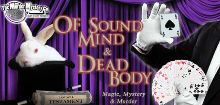 01 APRIL: April Fools Day Murder Mystery Dinner