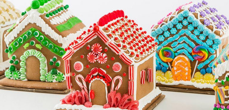 10 DEC: GINGERBREAD HOUSE CLASS